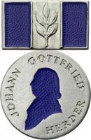 B.2909 Herder-Medaille Silber (blau)