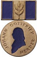 B.2910 Herder-Medaille Bronze (blau)