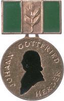 B.2913 Herder-Medaille Bronze (grün)