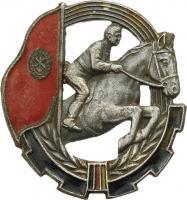 B.3352 GST Pferdesport Leistungsabzeichen Silber