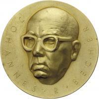 B.3632a Johannes-R.-Becher-Medaille Gold