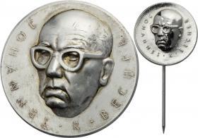 B.3633a/c Johannes-R.-Becher-Medaille Silber