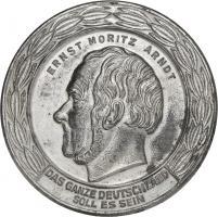 B.3702d Ernst-Moritz-Arndt-Medaille mit Miniatur