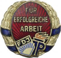 B.4126a Ehrenzeichen JP Ernst-Thälmann Eisen