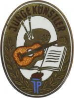 B.4244a Mitgliedsabzeichen JP Junge Künstler