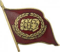 B.4371a SED 40 Jahre Mitgliedschaft Abzeichen