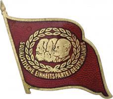 B.4371b SED 40 Jahre Mitgliedschaft Abzeichen