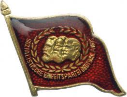 B.4371c SED 40 Jahre Mitgliedschaft Abzeichen
