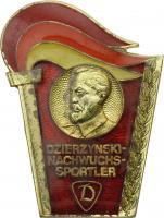 B.4543 Ehrennadel Dzierzynski-Nachwuchs-Sportler