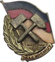 B.4712b SDAG Wismut Meister der Arbeit I. Klasse
