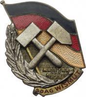 B.4713b SDAG Wismut Meister der Arbeit II. Klasse