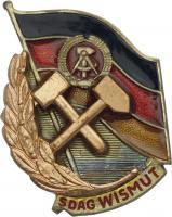 B.4714h SDAG Wismut Meister der Arbeit III. Klasse