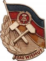 B.4714k SDAG Wismut Meister der Arbeit III. Klasse