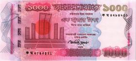 Bangladesch / Bangladesh P.51b 1000 Taka 2009 (1)