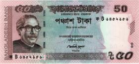 Bangladesch / Bangladesh P.56c 50 Taka 2013 (1)