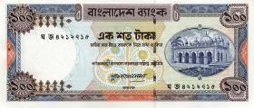 Bangladesch / Bangladesh P.31d 100 Taka (1983) (1)