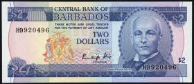 Barbados P.36a 2 Dollars (1986) (1)