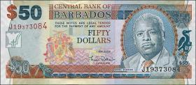 Barbados P.70a 50 Dollars 2007 (1)