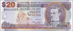 Barbados P.69a 20 Dollars 2007 (1)