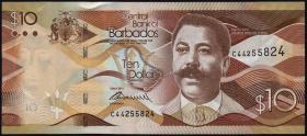 Barbados P.75a 10 Dollars 2013 (1)