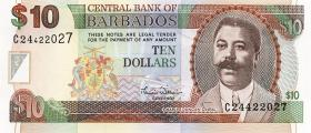 Barbados P.62 10 Dollars (2000) (1)