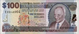 Barbados P.65 100 Dollars (2000) (1)