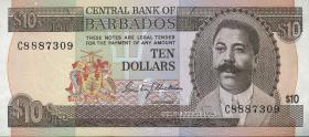 Barbados P.33 10 Dollars (1975) (1)