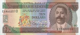 Barbados P.48 10 Dollars (1995) (1)