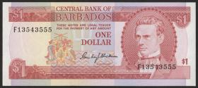 Barbados P.29 1 Dollar (1973) (1)