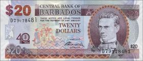 Barbados P.72 20 Dollars 2012 Gedenkbanknote (1)