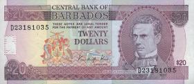 Barbados P.39 20 Dollars (1989) (1)
