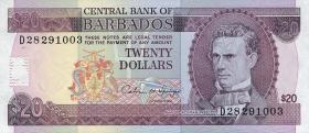 Barbados P.44 20 Dollars (1993) (1)