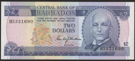Barbados P.30 2 Dollars (1980) (1)