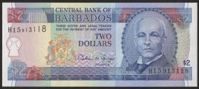 Barbados P.46 2 Dollars (1995) (1)