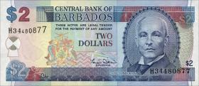 Barbados P.60 2 Dollars (2000) (1)