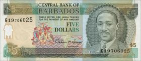 Barbados P.47 5 Dollars (1996) (1)