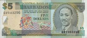 Barbados P.55 5 Dollars (1999) (1)
