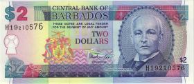 Barbados P.54a 2 Dollars (1998) (1)