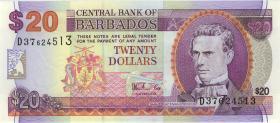 Barbados P.57 20 Dollars (1999) (1)