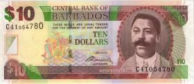 Barbados P.68b 10 Dollars 2007 (2009) (1)