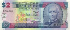 Barbados P.66c 2 Dollars 2 May 2012 (1)