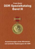 Bartel: DDR Spezialkatalog Band  3