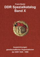 Bartel: DDR Spezialkatalog Band 10