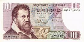 Belgien / Belgium P.134b 100 Francs 1972 (1/1-)
