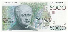 Belgien / Belgium P.145 5000 Francs (1986-92) (1)