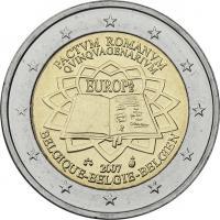 Belgien 2 Euro 2007 Römische Verträge