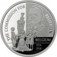 Belgien 20 Euro 2016 Hilfswerk PP