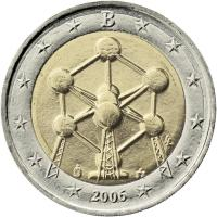Belgien 2 Euro 2006 Atomium