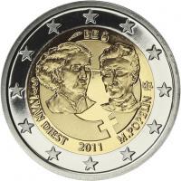 Belgien 2 Euro 2011 Internat. Frauentag, PP