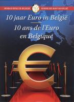 Belgien 2 Euro 2012 Euro-Bargeld Folder